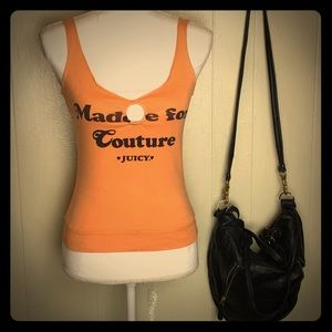Made for coutour Juicy Couture tank top Sm defect